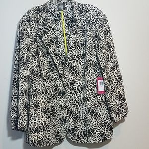 NWT Vince Camuto Leopard Print Blazer